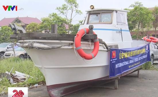 Nhật Bản trao tặng tàu tuần tra cứu nạn cho ngư dân Nghệ An