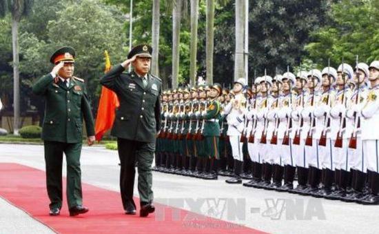 Tăng cường hợp tác quốc phòng Việt Nam - Trung Quốc