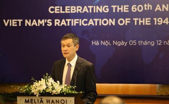 Việt Nam đóng vai trò quan trọng thúc đẩy tôn trọng luật nhân đạo quốc tế
