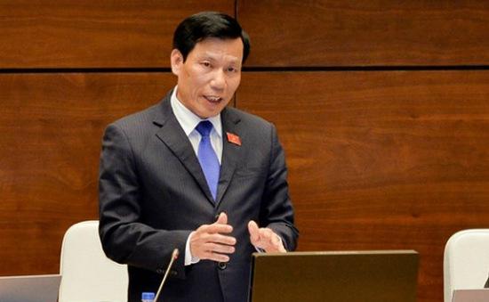 Bộ trưởng Bộ Văn hóa, Thể thao và Du lịch đăng đàn trả lời chất vấn trước Quốc hội