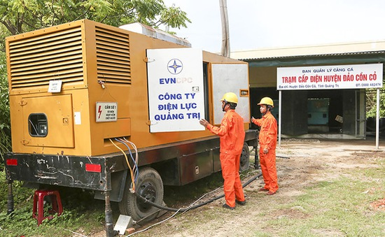 Quảng Trị bàn giao hệ thống điện trên đảo Cồn Cỏ cho EVN