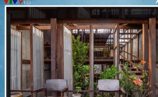 Căn nhà lợp tôn ở An Giang lên báo nước ngoài