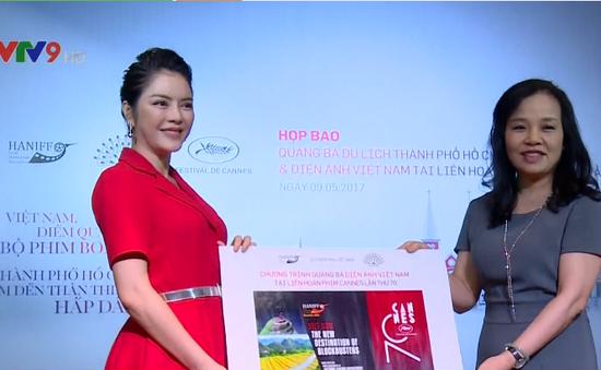 Lý Nhã Kỳ quảng bá hình ảnh Việt Nam tại liên hoan phim Cannes 70