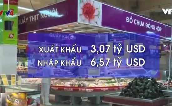Nhập siêu từ Thái Lan vào Việt Nam tăng mạnh