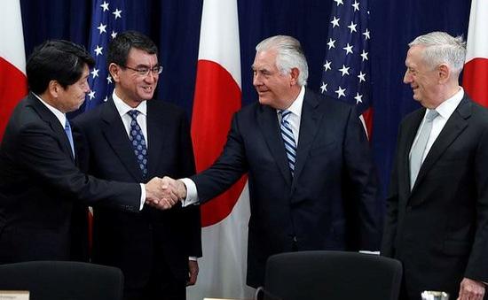 """Nhật Bản, Mỹ hội đàm an ninh """"2+2"""""""