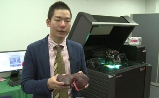 Sinh viên y khoa Nhật Bản tập phẫu thuật với hình mẫu in 3D