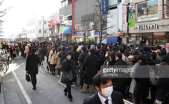 Nhật Bản: Lao xe vào đám đông, 7 người bị thương