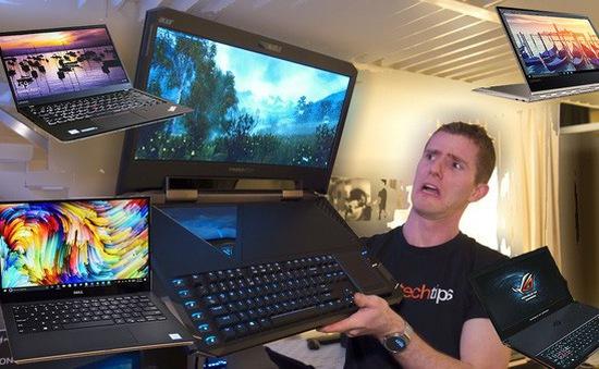 Những mẫu laptop cao cấp ra mắt tại Việt Nam trong năm 2017