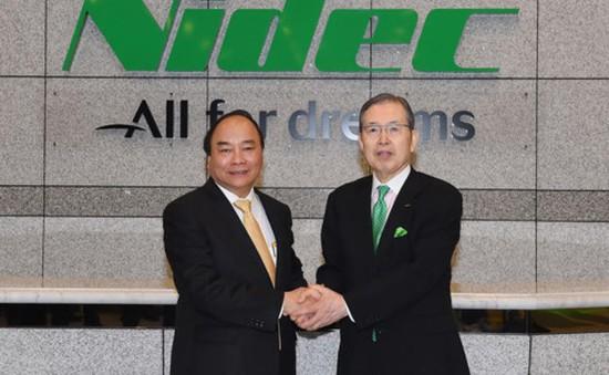 Thủ tướng thăm Tập đoàn Nidec, Nhật Bản