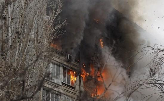 Nổ khí gas tại Nga, 2 người thiệt mạng