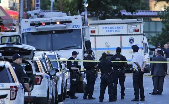 Nổ súng tại New York, 1 cảnh sát thiệt mạng