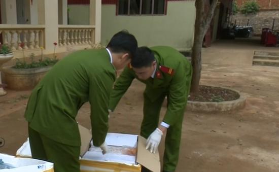 Bắt đối tượng vận chuyển hơn 200 kg nội tạng bẩn ở Sơn La