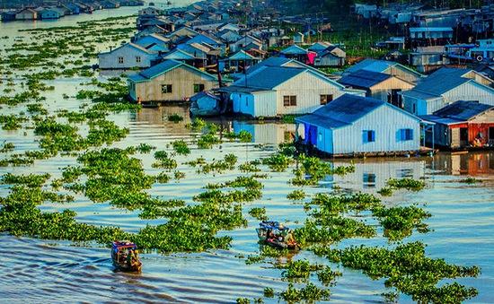 Làng nổi cá bè Châu Đốc - Vẻ đẹp vùng sông nước An Giang