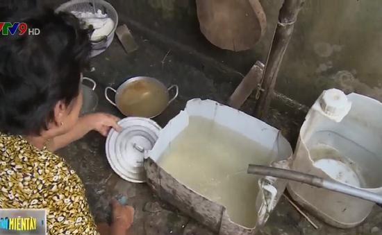 Trạm cấp nước bỏ hoang, dân phải mua nước với giá 80.000 đồng/m3