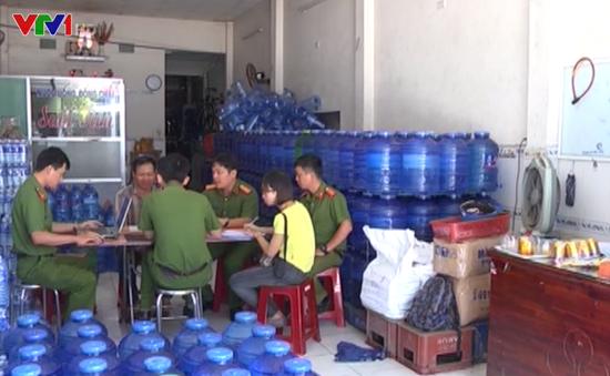 Quảng Nam: Phát hiện cơ sở nước đóng chai dùng hóa chất