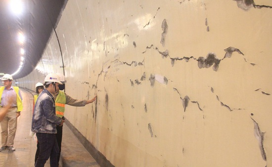 Bộ Giao thông Vận tải: Các vết nứt tại hầm Hải Vân 1 không ảnh hưởng đến vận hành