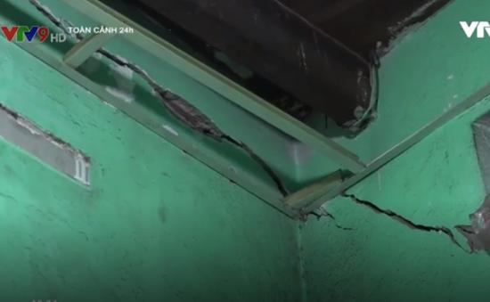 Đà Nẵng: Xây trụ sở UBND phường làm nứt nhiều nhà dân