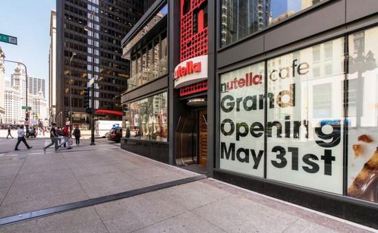 Quán cà phê Nutella đầu tiên trên thế giới