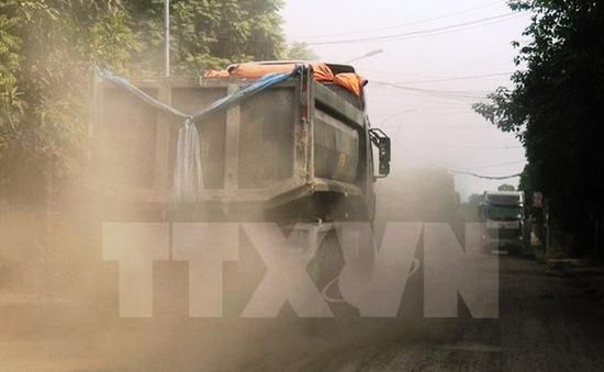 Ô nhiễm bụi tại các khu đô thị lớn ở mức báo động