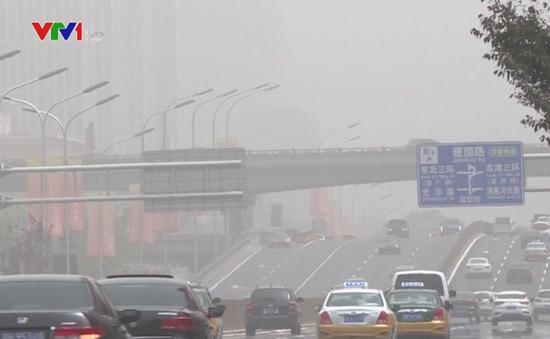 Ô tô là tác nhân chính gây ô nhiễm không khí ở Trung Quốc