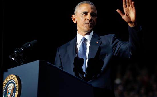 Tổng thống Obama cam kết chuyển giao quyền lực êm thấm cho Donald Trump