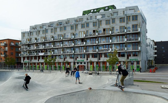 Xuất hiện khách sạn đầu tiên trên thế giới chỉ dành cho người yêu xe đạp