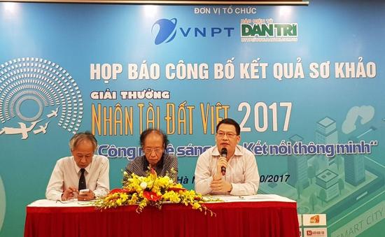 17 sản phẩm lĩnh vực CNTT vào  Chung khảo Nhân tài Đất Việt 2017