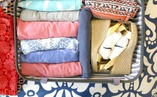 Bí kíp biến hành lý du lịch trở nên gọn gàng và tiện dụng