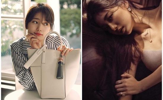 Suzy thu hút mọi ánh nhìn với hai hình ảnh tương phản