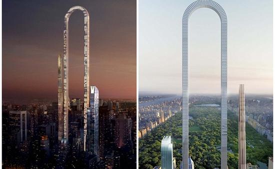 Choáng ngợp trước nhà chọc trời hình chữ U dài nhất thế giới ở New York