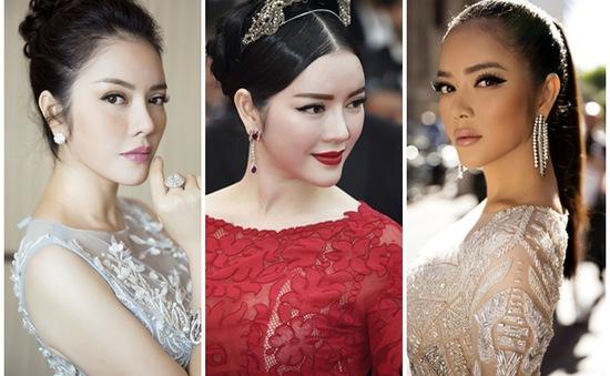 """Những lần Lý Nhã Kỳ khiến fan Việt """"nín thở"""" với trang phục thảm đỏ tại LHP Cannes"""