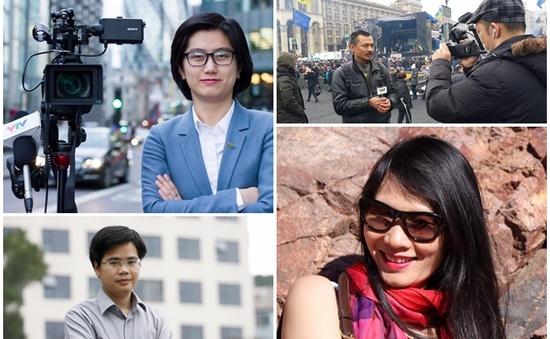 Những nhà báo, phóng viên thường trú quen thuộc của VTV
