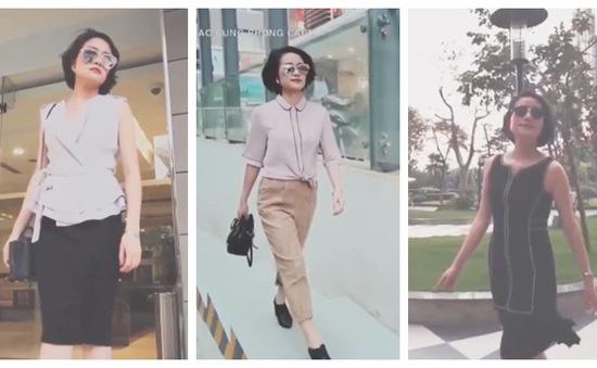 """MC Phí Linh tiết lộ 3 bộ trang phục """"không bao giờ cũ"""""""