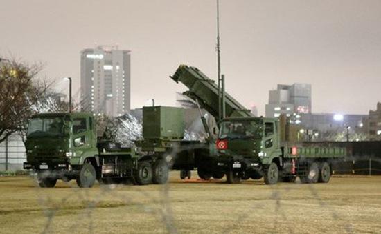 Nhật Bản tăng cường phòng thủ tên lửa