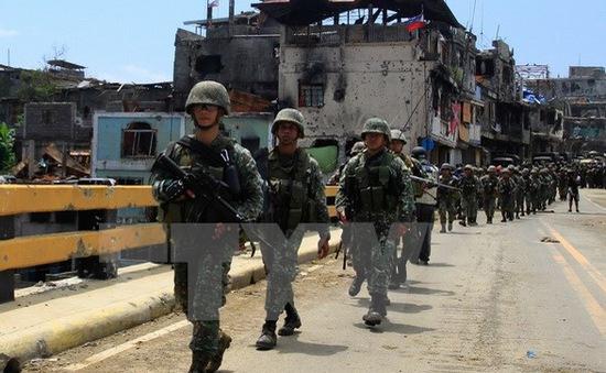 Binh sỹ Philippines đụng độ với phiến quân Abu Sayyaf