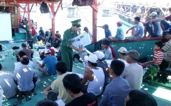 Đẩy mạnh công tác giáo dục pháp luật vùng biên giới hải đảo