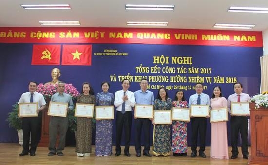 Năm 2017 là năm thành công về đối ngoại của TP.HCM
