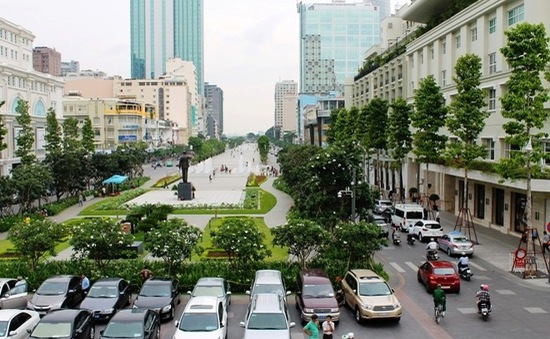 TP.HCM cấm lưu thông trên phố đi bộ Nguyễn Huệ trong 10 ngày