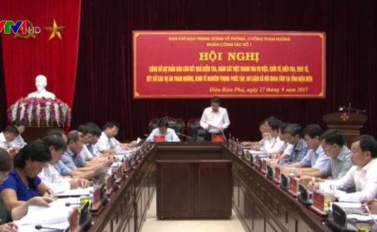Kiểm tra phòng chống tham nhũng tại Quảng Bình, Điện Biên