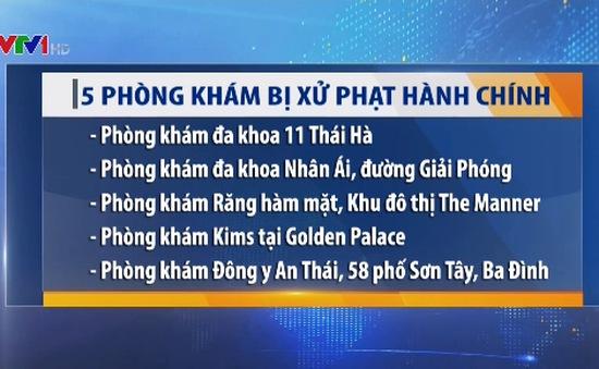 Xử phạt 5 phòng khám có yếu tố nước ngoài tại Hà Nội