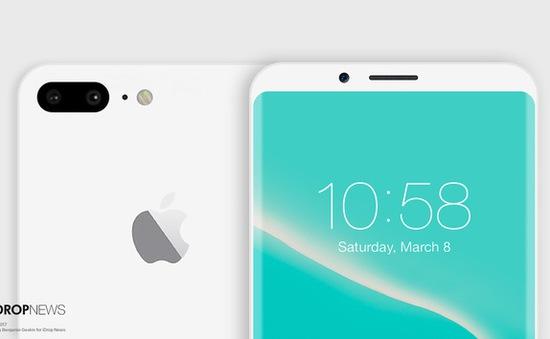 Mãn nhãn với concept iPhone 8 phiên bản Jet White