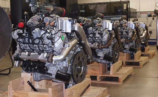 Động cơ diesel V8 Duramax thứ 2 triệu xuất xưởng