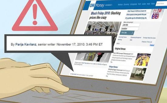 8 'mẹo' nhận biết Fake News người dùng không nên bỏ qua