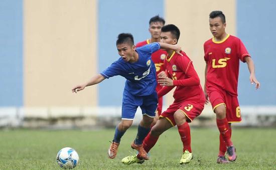 VCK giải vô địch U17 QG- Cúp Thái Sơn Nam 2017: PVF sớm vào bán kết