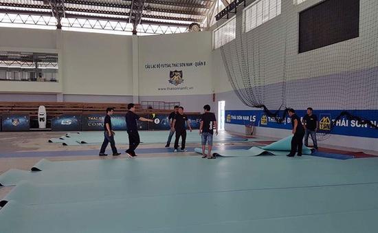 AFC hài lòng về công tác chuẩn bị của Việt Nam cho giải futsal các CLB châu Á 2017