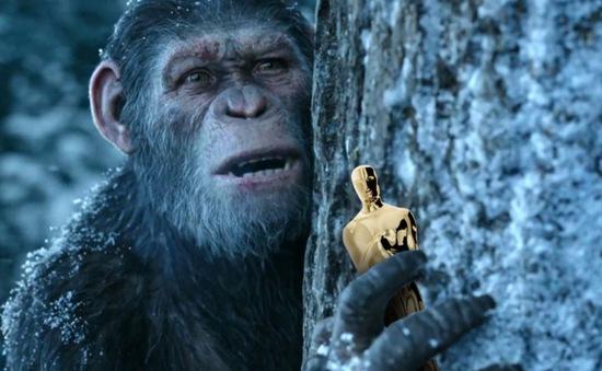 """""""Đại chiến hành tinh khỉ"""" giữ vị trí quán quân phòng vé Bắc Mỹ"""