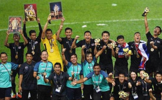 Giành HCV SEA Games 29, U22 Thái Lan ngập trong tiền thưởng