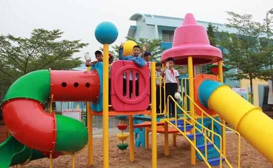 Xây dựng sân chơi chất lượng cao cho trẻ em tại tỉnh Bà Rịa - Vũng Tàu