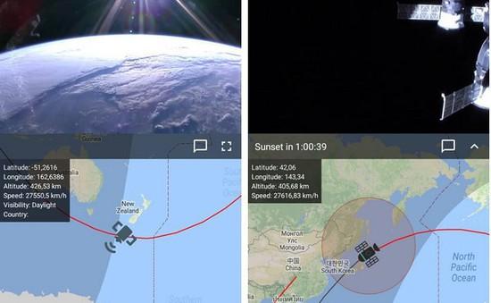 Hướng dẫn ngắm nhìn trực tiếp hình ảnh địa cầu từ trạm vũ trụ quốc tế ISS
