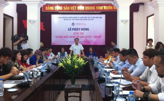 Khởi động cuộc thi Kỹ năng nghề làm đẹp Việt Nam lần thứ I - 2017